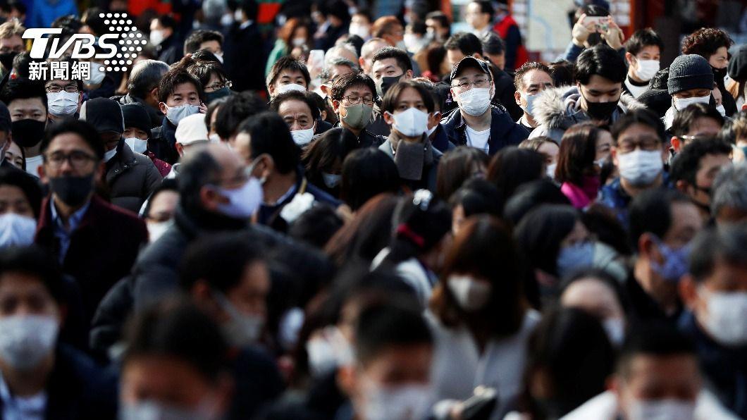 日本新冠肺炎疫情升溫。(圖/達志影像路透社) 日本防疫重點措施將擴大 埼玉千葉等4縣20日上路