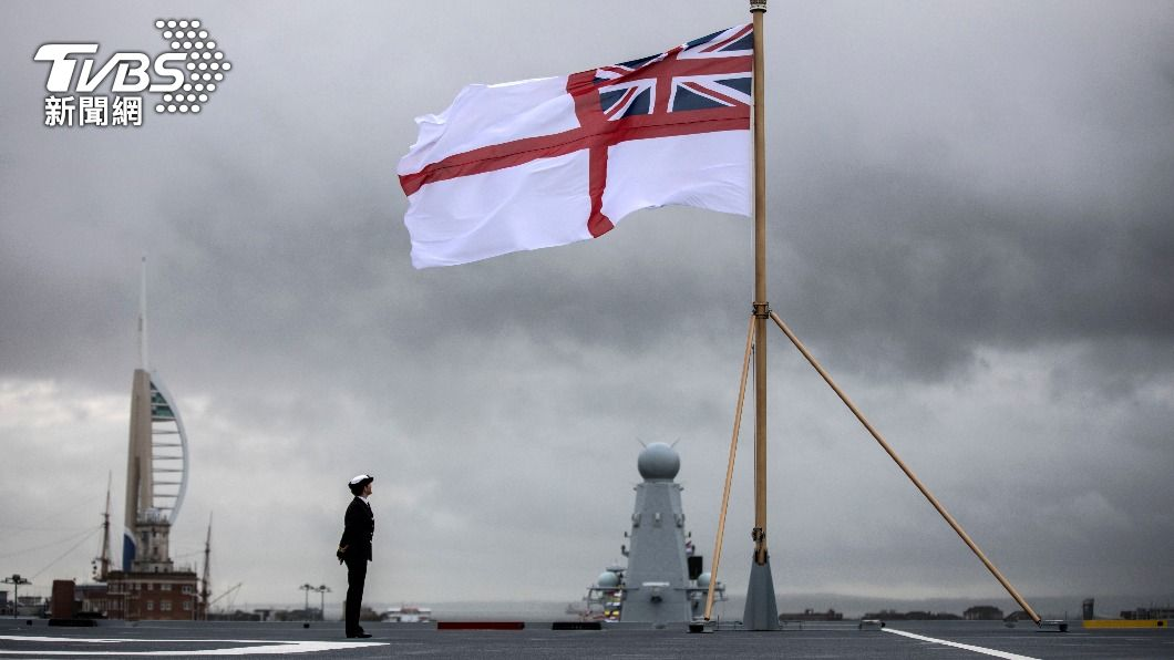 英國伊麗莎白女王號航母打擊群5月首航。(圖/達志影像路透社) 英航艦女王號5月首航 傳避台灣海峽以免激怒大陸