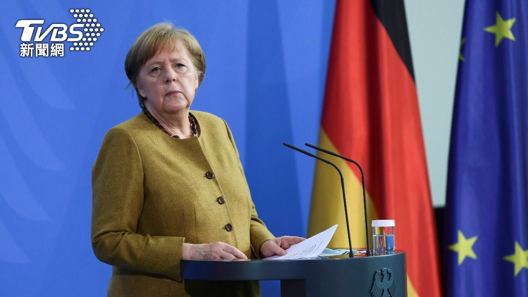 德國總理梅克爾。(圖/達志影像美聯社) 信任AZ疫苗 德國總理梅克爾16日接種