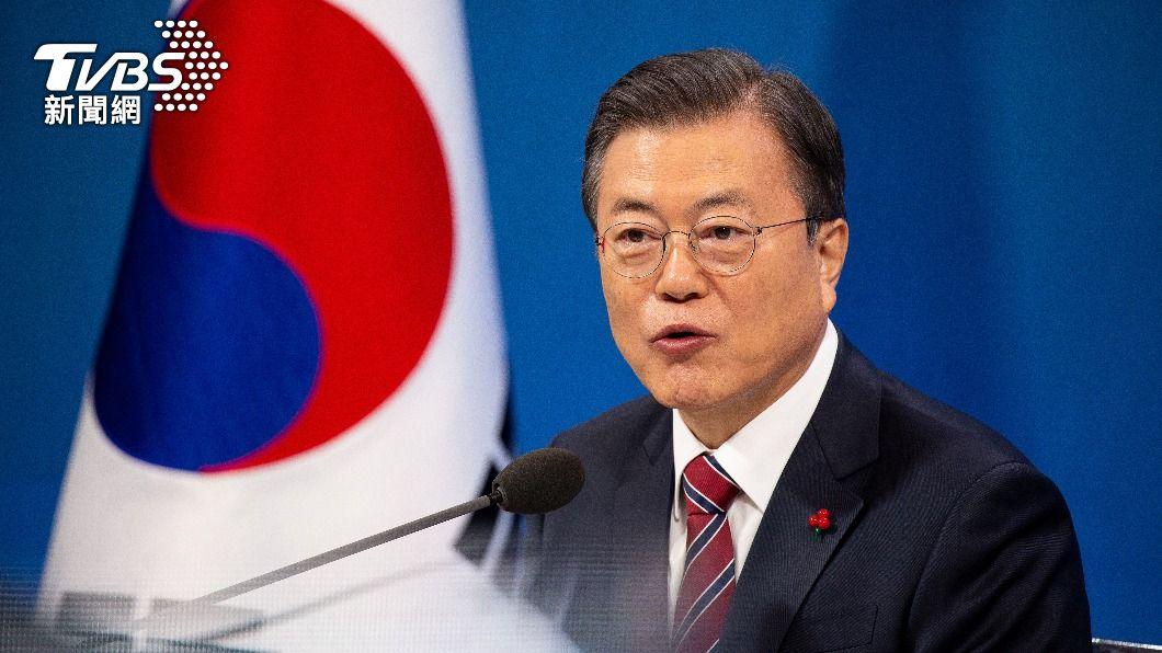 南韓總統文在寅。(圖/達志影像路透社) 文在寅5月訪美 統一部盼改善兩韓關係能達成共識