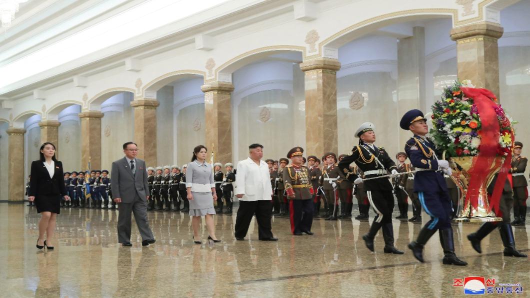 圖/達志影像路透 北韓慶太陽節 邊境有動靜!月底有望解封