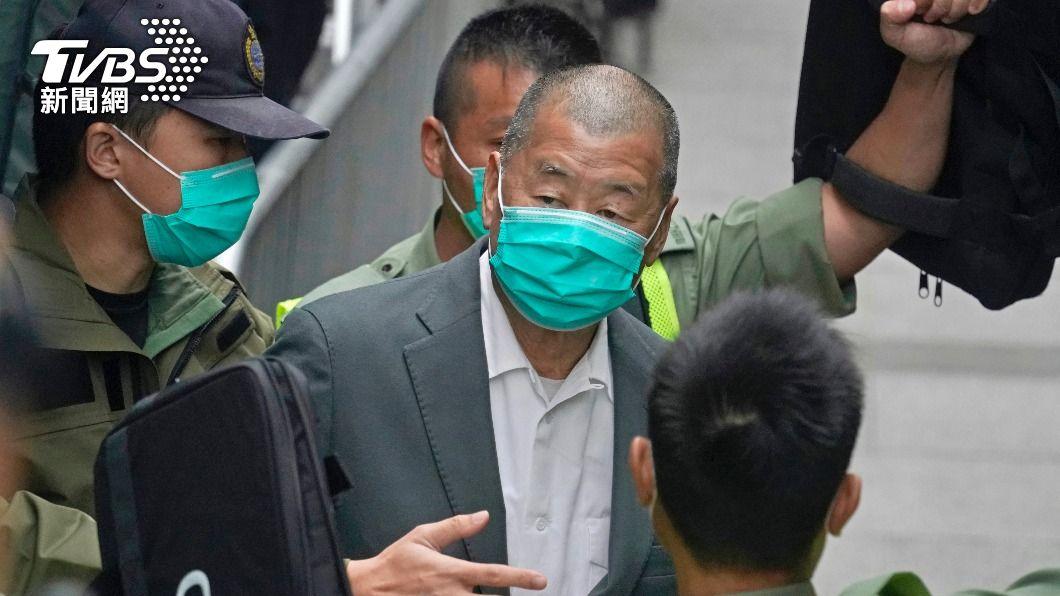 黎智英判刑14個月 美國務卿控「政治動機」