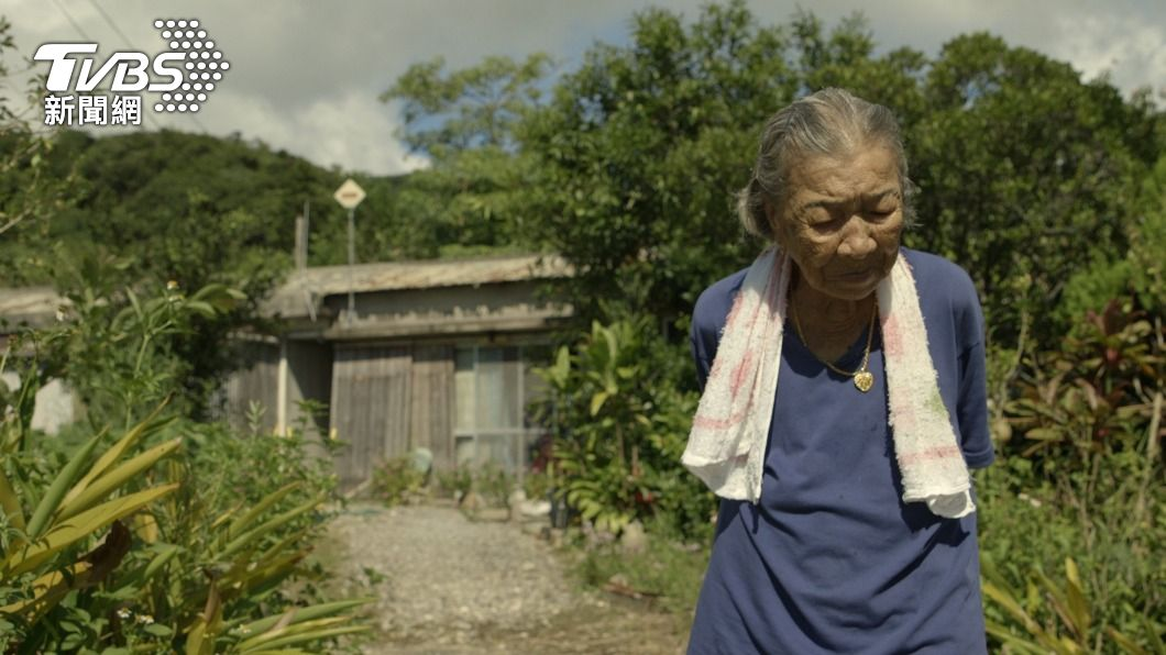 在紀錄片「綠色牢籠」中,講述台灣阿嬤橋間良子88歲至92歲過世前的4年時光,回顧幾乎被遺忘的台灣移民史。(圖/中央社) 台灣阿嬤口述憶移民沖繩礦坑 出書登日本亞馬遜榜