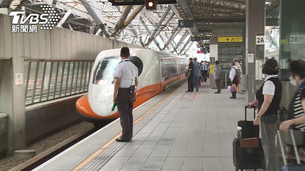 (圖/TVBS) 因應母親節返鄉潮 高鐵今加開1全自由座列車