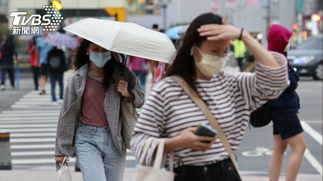(圖/中央社) 梅雨季前奏!華南水氣及鋒面將至 下週降雨時間曝
