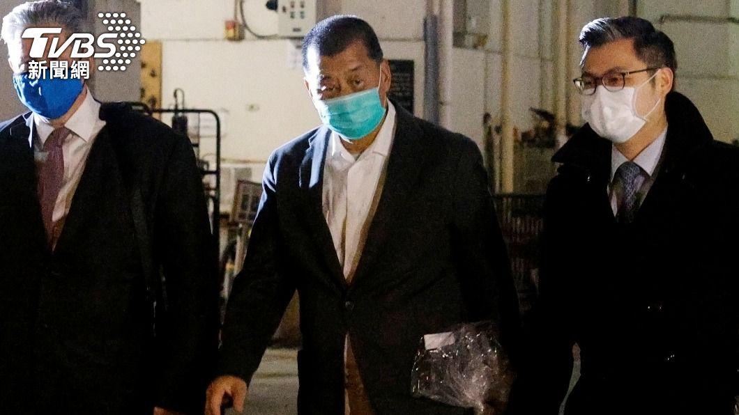 壹傳媒創辦人黎智英遭判14個月。(圖/達志影像路透社) 香港民主派人士遭判刑 陸官媒再批外國無權干涉