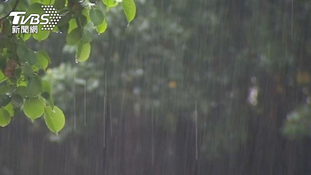(示意圖/TVBS) 消失的雨滴!原來3日有降雨 掉落過程中卻蒸發大半