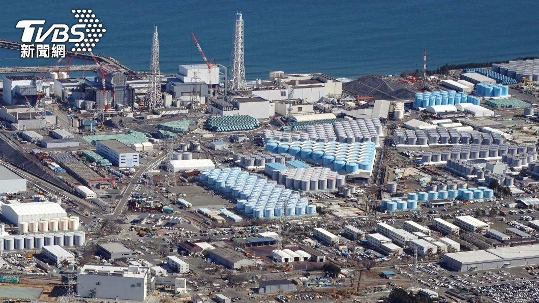 圖為福島第一核電廠。(圖/達志影像美聯社) 核廢水排入海 外交部:日宣布前曾兩度派人說明