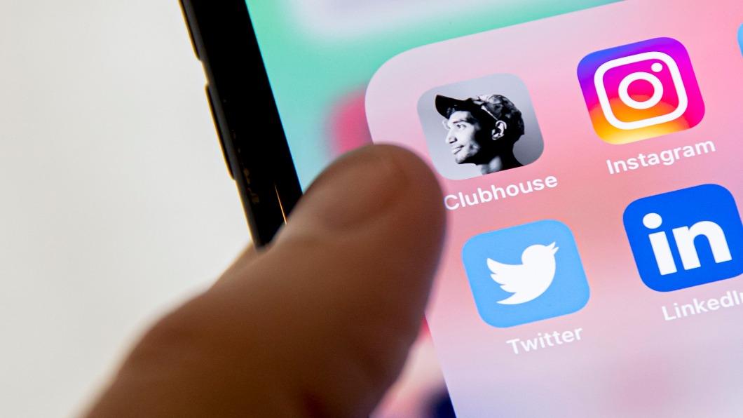 圖/達志影像美聯社 「疫」起來聊天 Clubhouse拓社交.尋商機