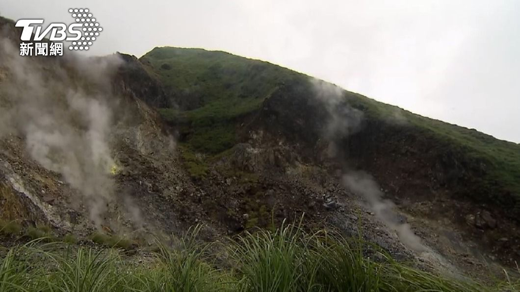 大屯火山岩漿庫離地表8公里 中研院曝噴發前兆
