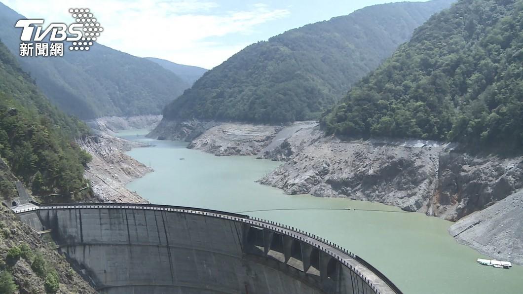 德基水庫是供應大台中地區非常重要的水庫。(圖/TVBS) 衝到最後一滴!專家1張圖揭「超慘2水庫」:好辛苦