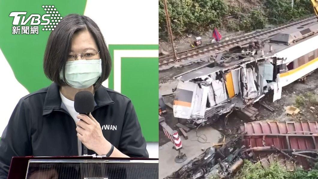 民進黨頻喊改革,卻仍釀重大交通意外。(圖/TVBS) F-5E、太魯閣號接連出事 前立委批:血淚斑斑成績單