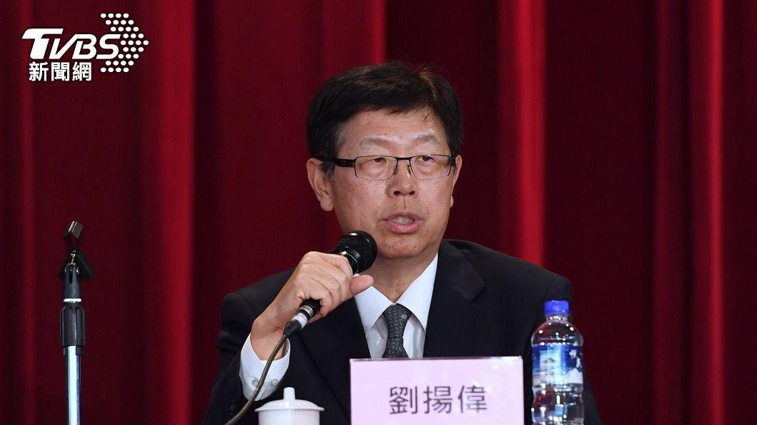 鴻海董事長劉揚偉。(圖/中央社資料照) 電動車產業起飛 鴻海劉揚偉:是台灣絕佳機會