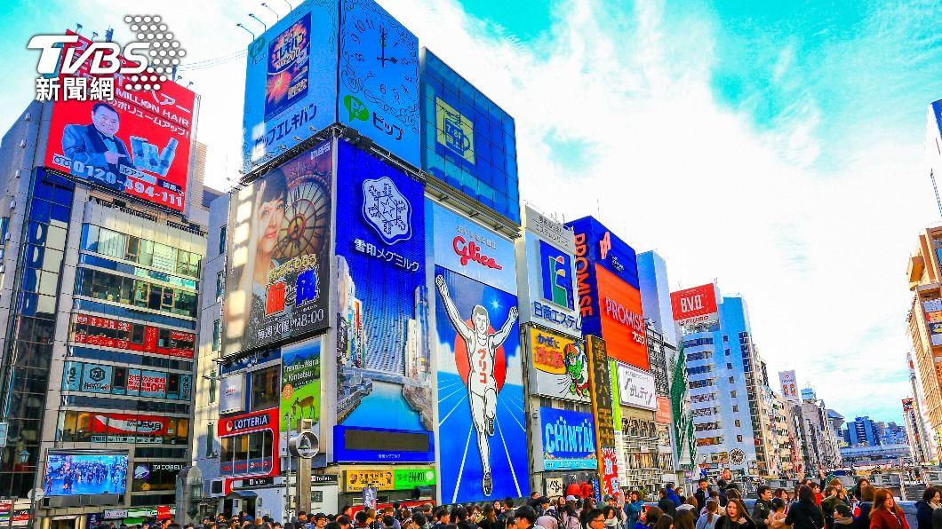 日本大阪府籲請中央針對大阪府三度發布緊急事態宣言。(示意圖/shutterstock達志影像) 日本疫情難遏! 每解除緊急事態疫情就升溫