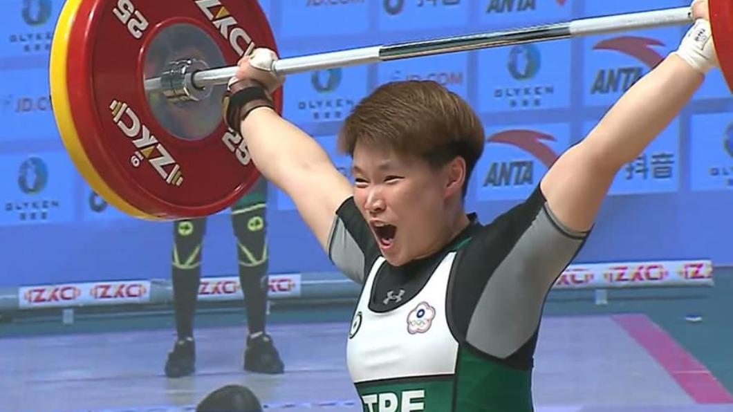 再傳捷報! 亞錦賽舉重陳玟卉64公斤奪3金
