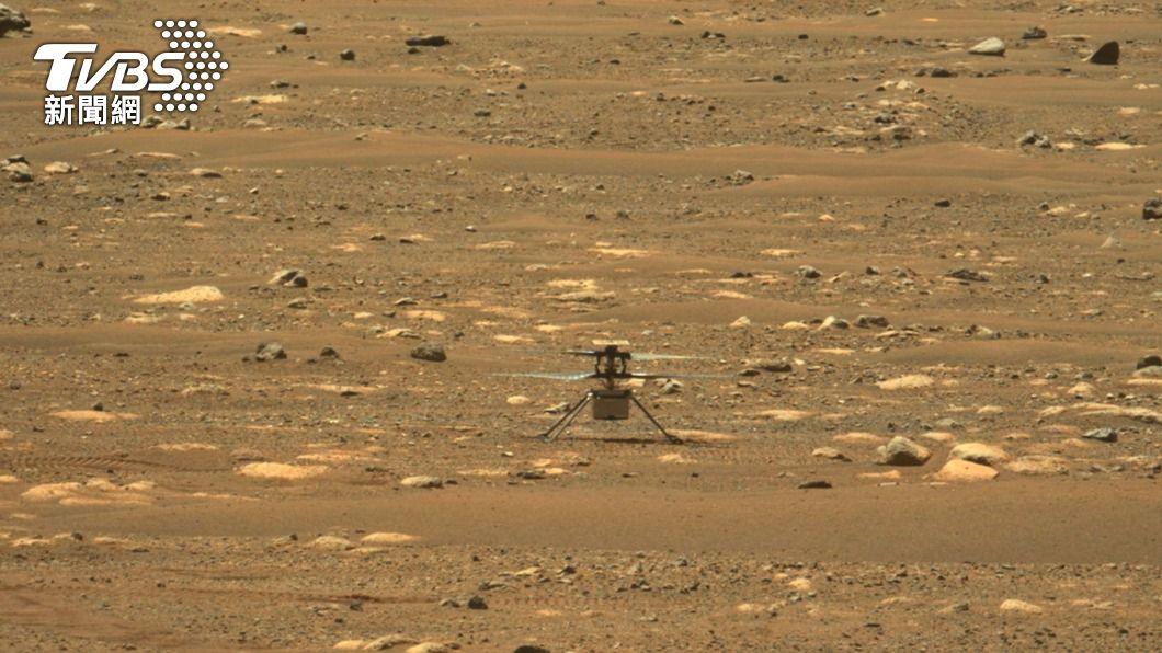 無人機火星上飛39秒! 「創新號」原來貼了幸運符