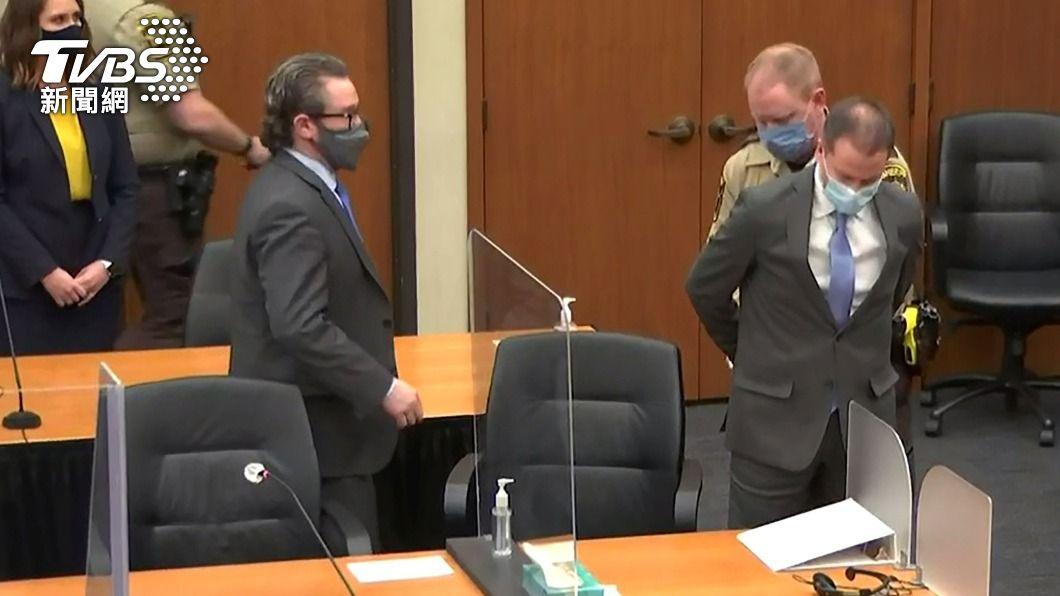 佛洛伊德壓頸致死案 陪審團裁決警官謀殺罪成立