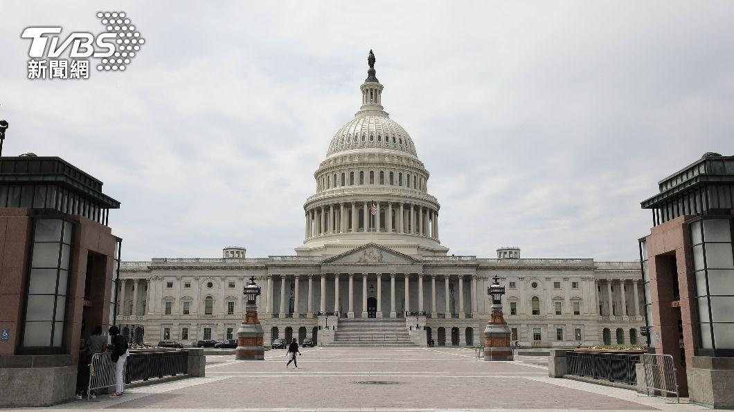美國跨黨派參議員8日提出「戰略競爭法案」,參院外委會21日將審查法案。(圖/中央社資料照) 美國會近年最重大「抗中法案」 估21日通過委員會