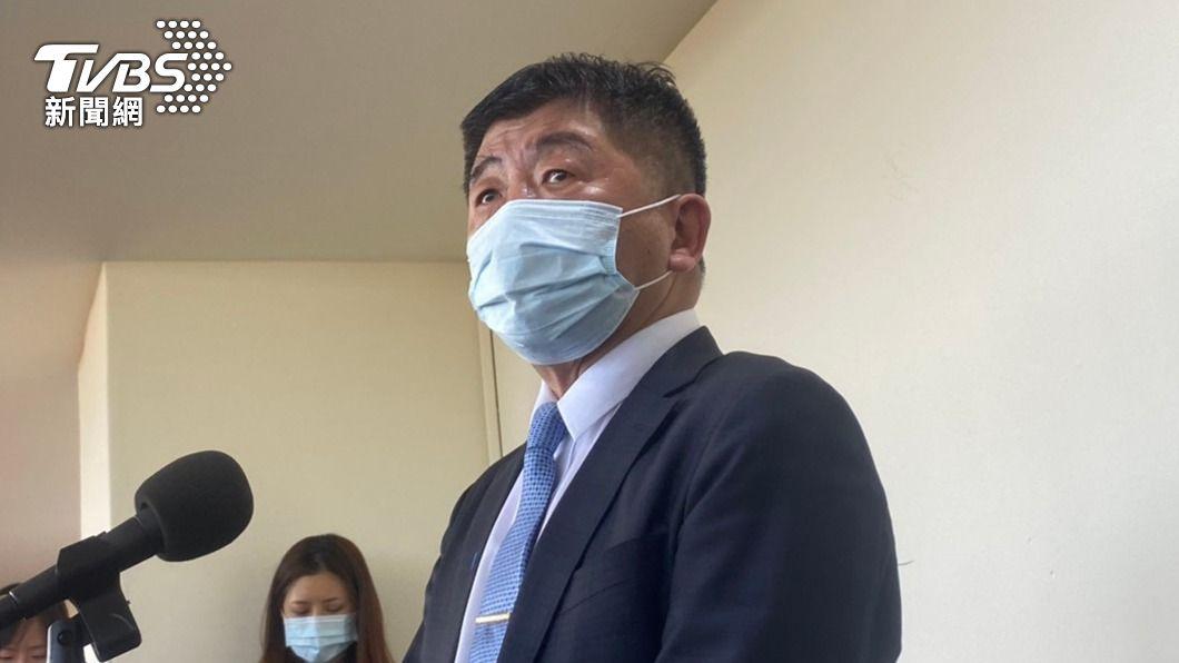 衛福部長陳時中。(圖/中央社) 2機師確診新冠肺炎 陳時中:本土感染可能性漸低