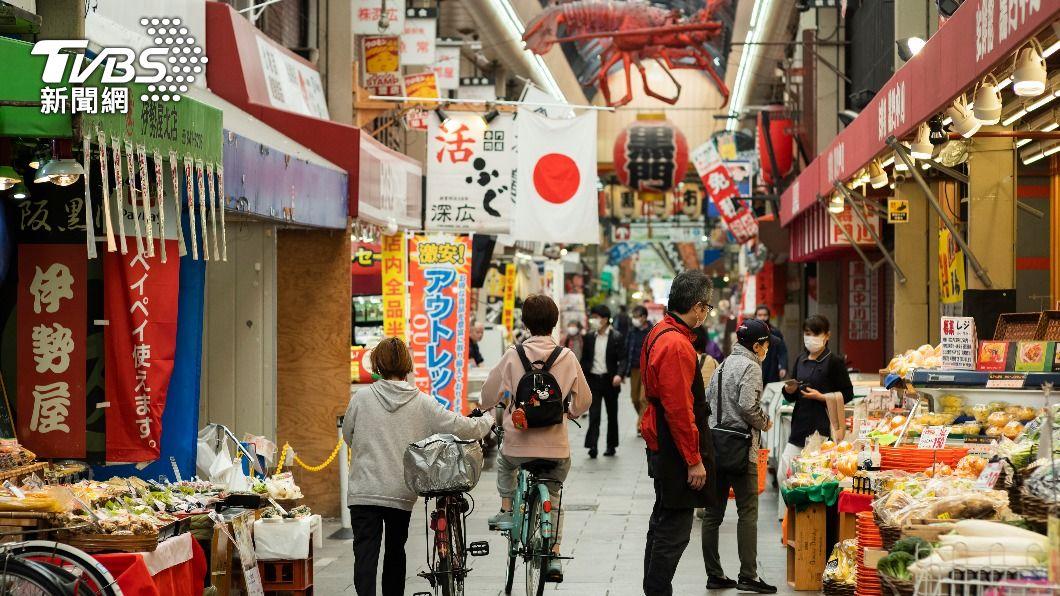 (圖/達志影像美聯社) 日本研擬3度發布緊急事態 對象為大阪東京兵庫