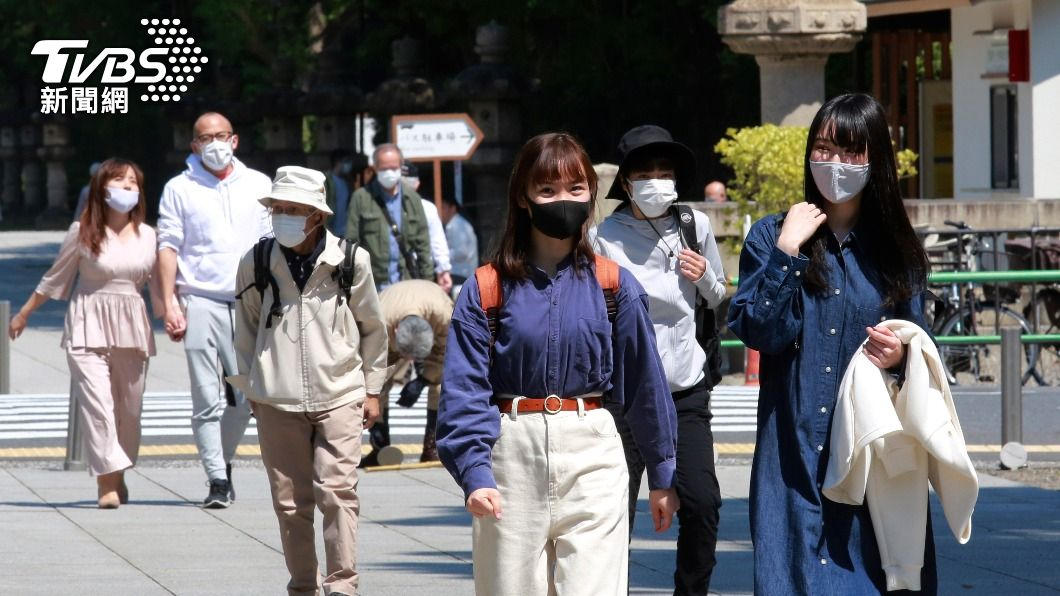 東京都擬籲請發布緊急事態。(圖/達志影像美聯社) 東京都擬籲請發布緊急事態 盼4/29至5/9實施