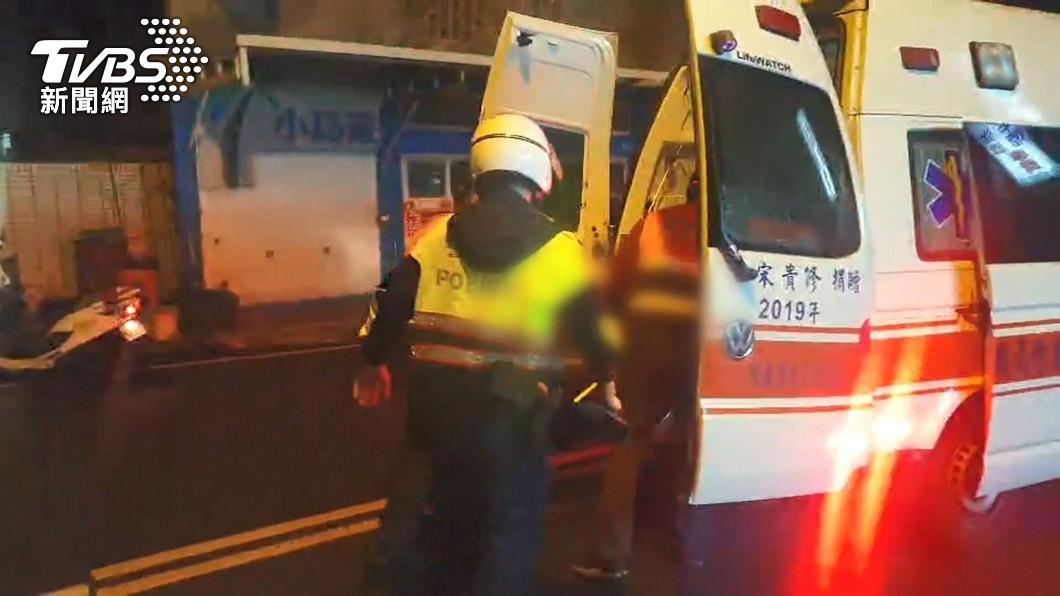 圖/TVBS 疑醉倒路中遭輾斃亡 駕駛:只看到黑影