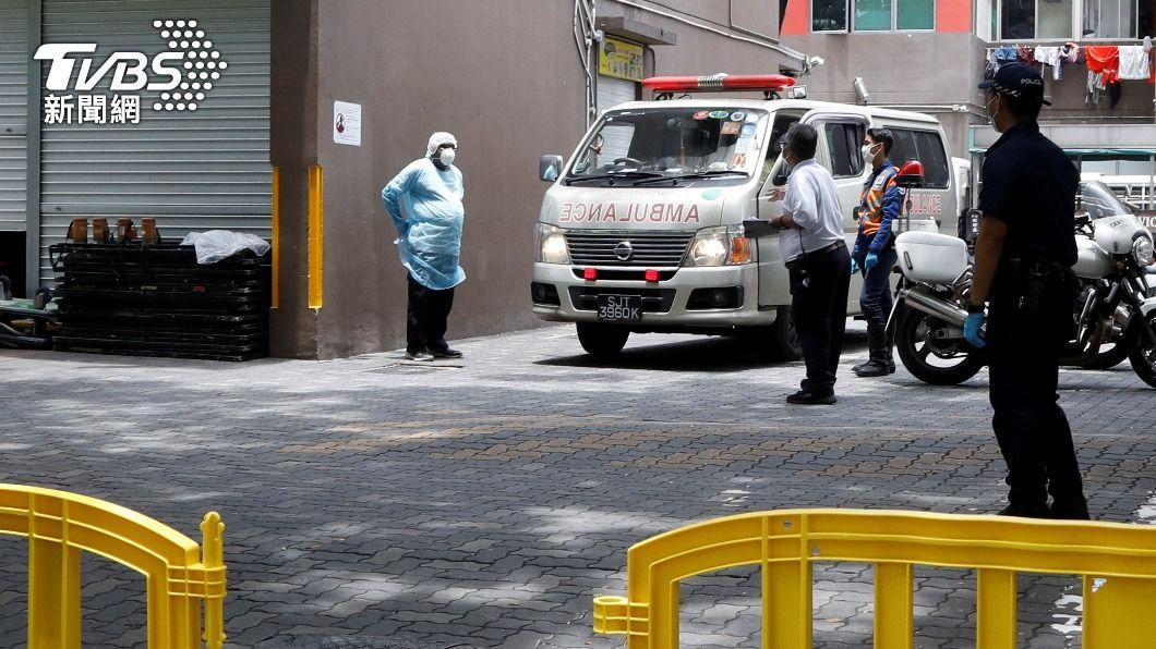 新加坡一處移工宿舍有11人確診。(圖/達志影像路透社) 新加坡新冠疫情升溫 又傳11名宿舍移工確診