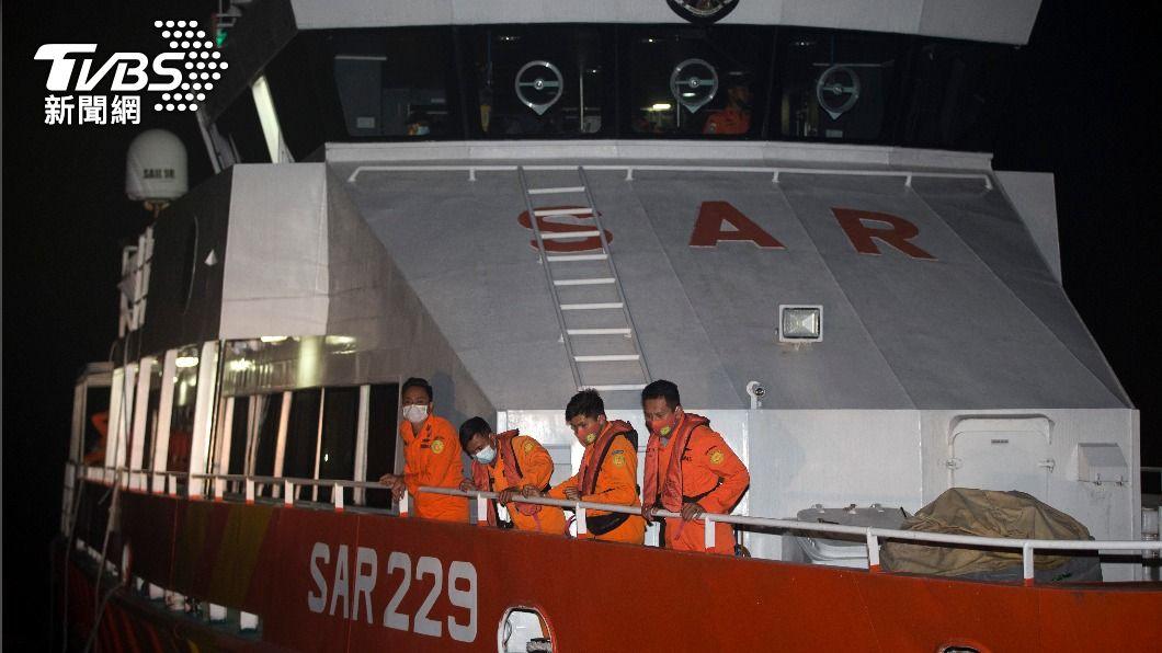 印尼印尼搜救失聯潛艦(圖/達志影像美聯社) 印尼搜救搭載53官兵潛艦 海底曾現不明移動訊號