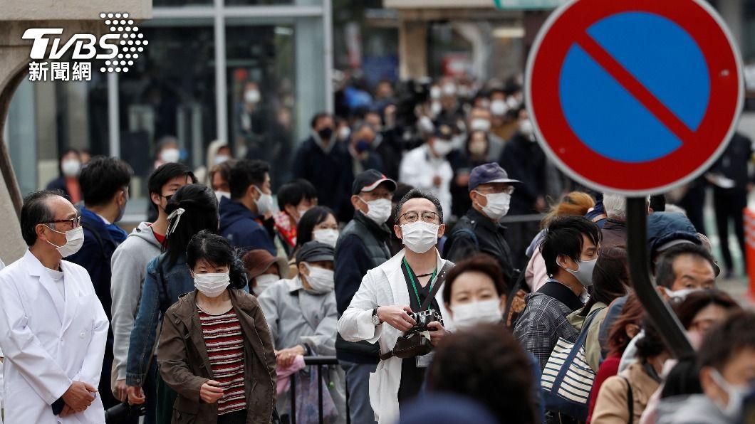 圖/達志影像路透社 疫情復燃三進緊急狀態 日本「黃金週」連兩年泡湯