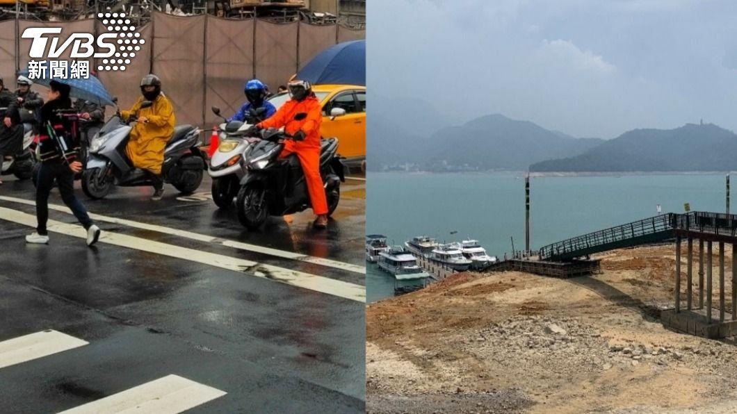 台灣旱象難解,連春雨也幾近消失,導致水庫蓄水量下降。(圖/TVBS資料畫面) 史上最少!鄭明典揭「消失的春雨」:只能等午後對流
