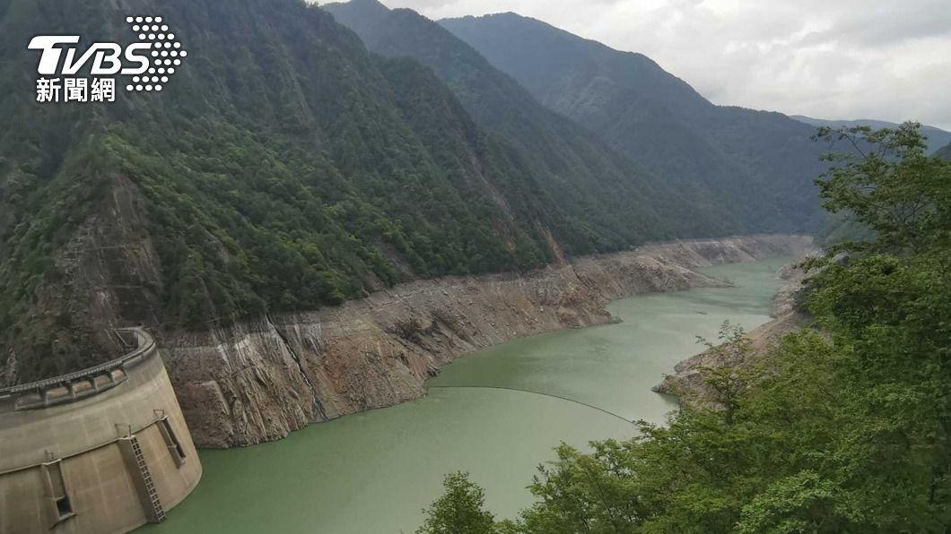 (圖/中央社) 鋒面快閃水庫解渴有限 未來一週多午後對流雨