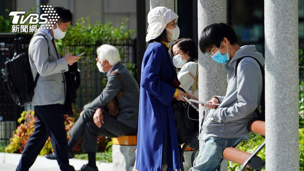 日本新冠肺炎疫情延燒。(圖/達志影像美聯社) 東京單日增861再創近期新高 恐重回單日逾千例