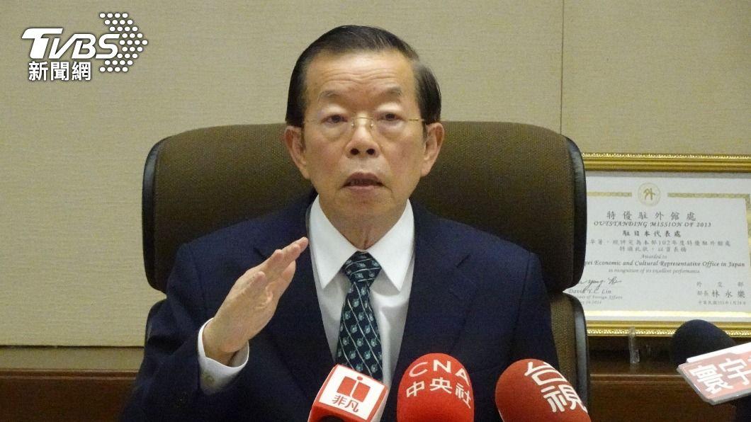 駐日代表謝長廷。(圖/中央社) 藍要求謝長廷返台備詢 外交部:不適用外交泡泡