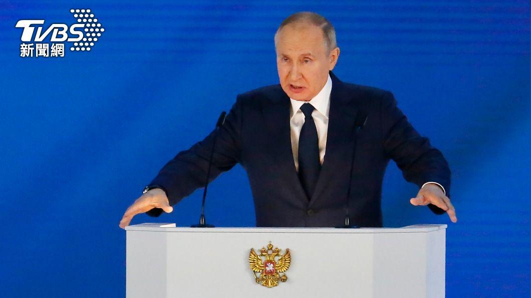 俄羅斯總統普欽。(圖/達志影像美聯社) 俄將自邊境撤軍 普欽邀烏克蘭總統到莫斯科會談