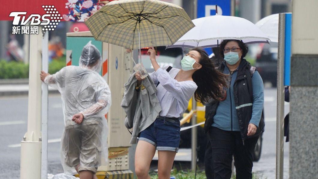 (圖/中央社) 旱象有解?週日起水氣增 這天鋒面報到有明顯降雨