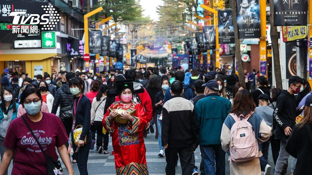 台經院上修2021年經濟成長率至5.03%。(圖/中央社) 智庫最樂觀 台經院上修今年經濟成長率至5.03%