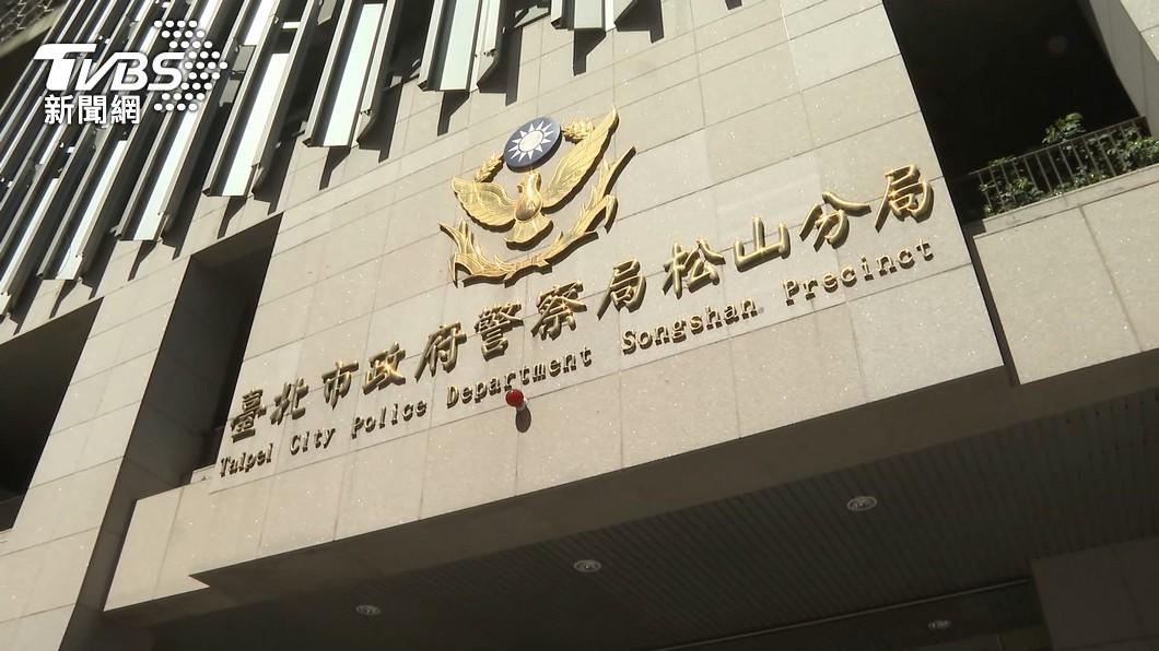 圖/TVBS 黑衣人砸中崙所畫面被刪 北檢傳訊前所長