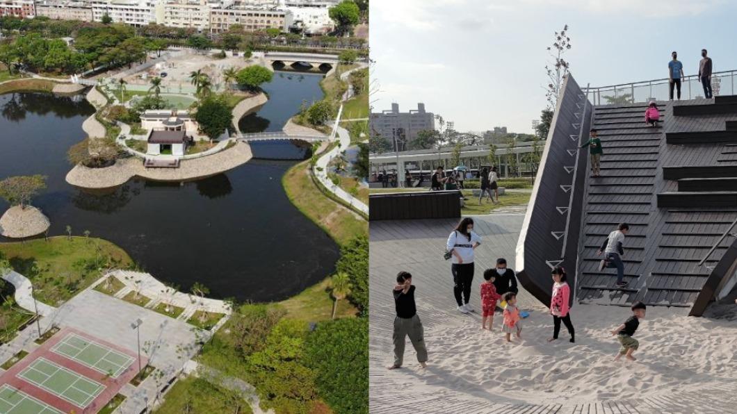 2大台版超美東京上野公園。(圖/翻攝自i屏東~愛屏東臉書) 網美們照過來!台版「東京上野公園」4/26登場