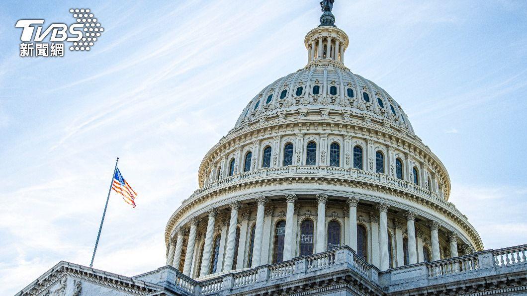 美國會大廈。(示意圖/shutterstock 達志影像) 美參院通過法案 打擊反亞裔仇恨犯罪