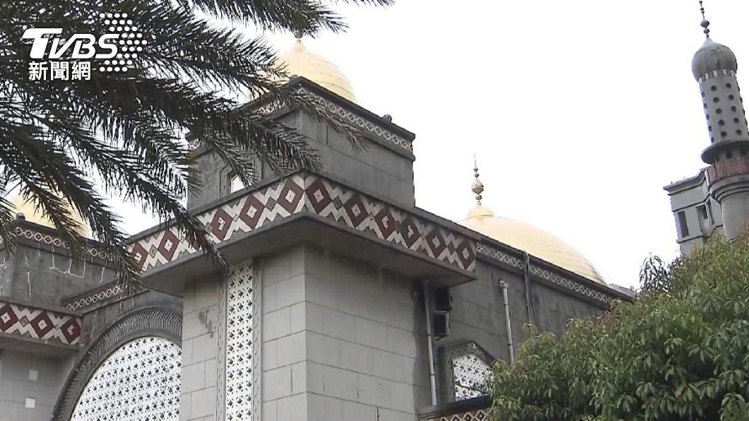 確診機師曾到台北清真寺。(圖/TVBS資料畫面) 外籍機師染疫!台北清真寺消毒完成 本週暫封閉