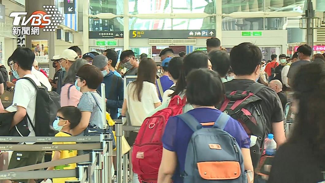 許多民眾出遊或返鄉常會搭乘高鐵。(圖/TVBS資料畫面) 買高鐵對號座驚見被佔位 女急忙趕人下秒超丟臉