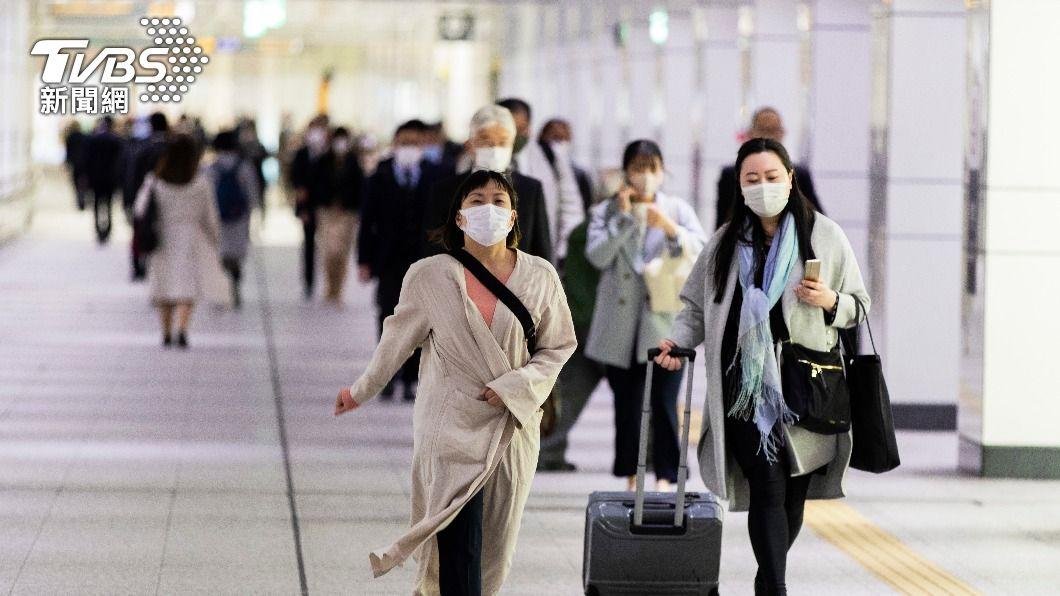 圖/達志影像美聯社 東京三度封鎖祭「禁酒令」! 令商家晚上8點關燈
