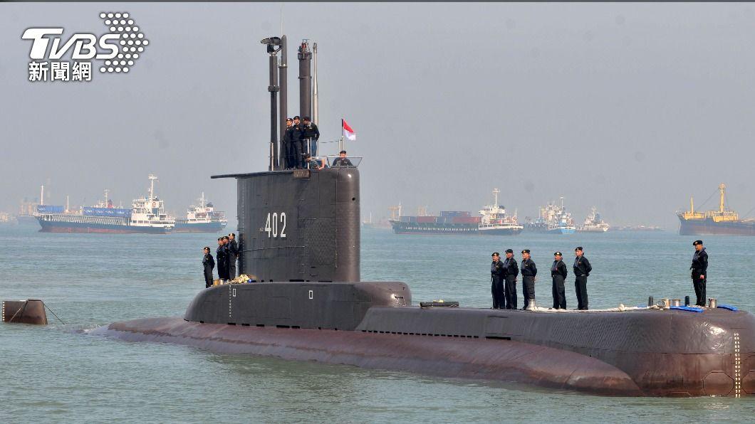 圖/達志影像路透社 印尼搜索失聯潛艦 聚焦50至百米深處不明物