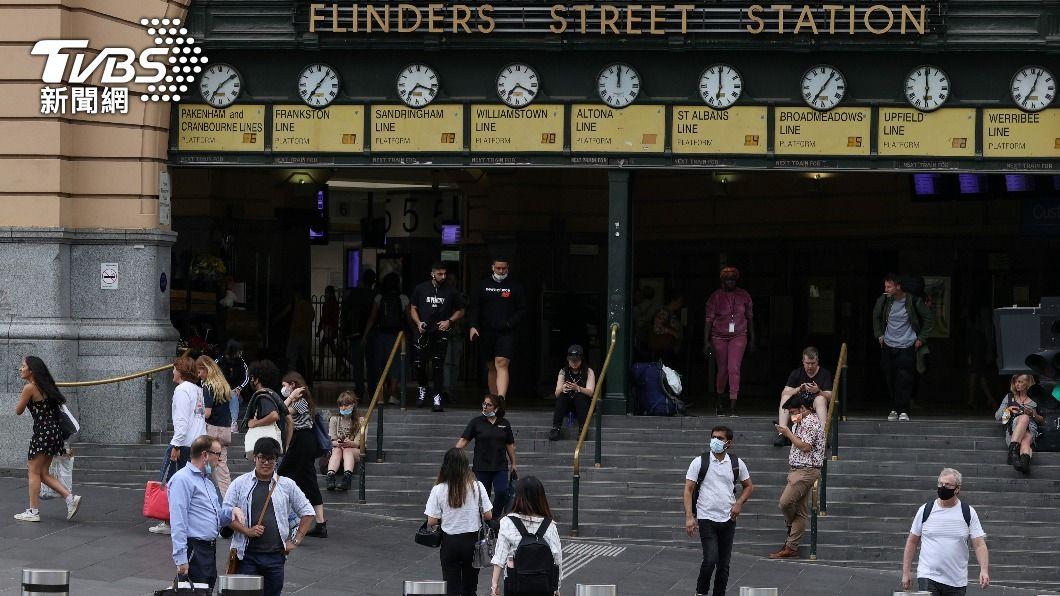 圖/達志影像路透社 澳洲疫情擴散 紐西蘭暫停西澳與紐間旅遊泡泡