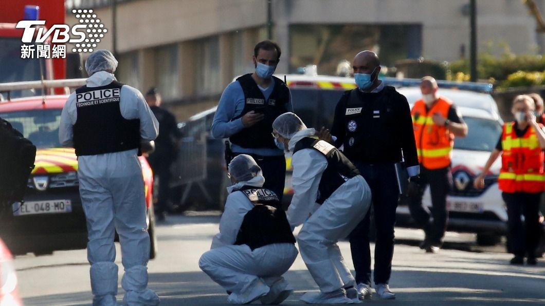 法國巴黎郊區女警遭人刺死。(圖/達志影像路透社) 法國女警遭刺死 嫌犯行凶時高喊「真主至大」