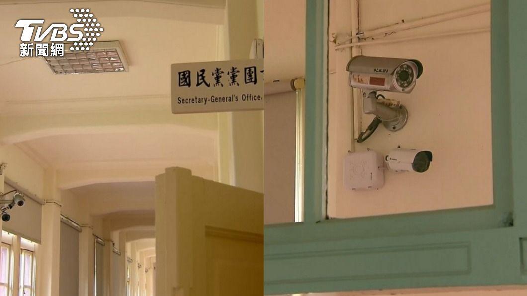 立院裝設監視器引發爭議。(圖/TVBS) 監視器應對準民進黨!藍營點名「3人」偷竊:至今都沒還