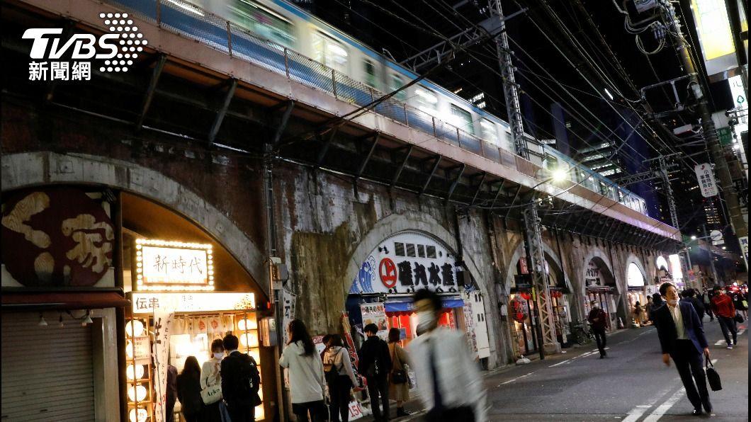 日本再度進入緊急事態宣言。(圖/達志影像路透社) 台灣再現本土個案 日本發布第3次緊急事態宣言