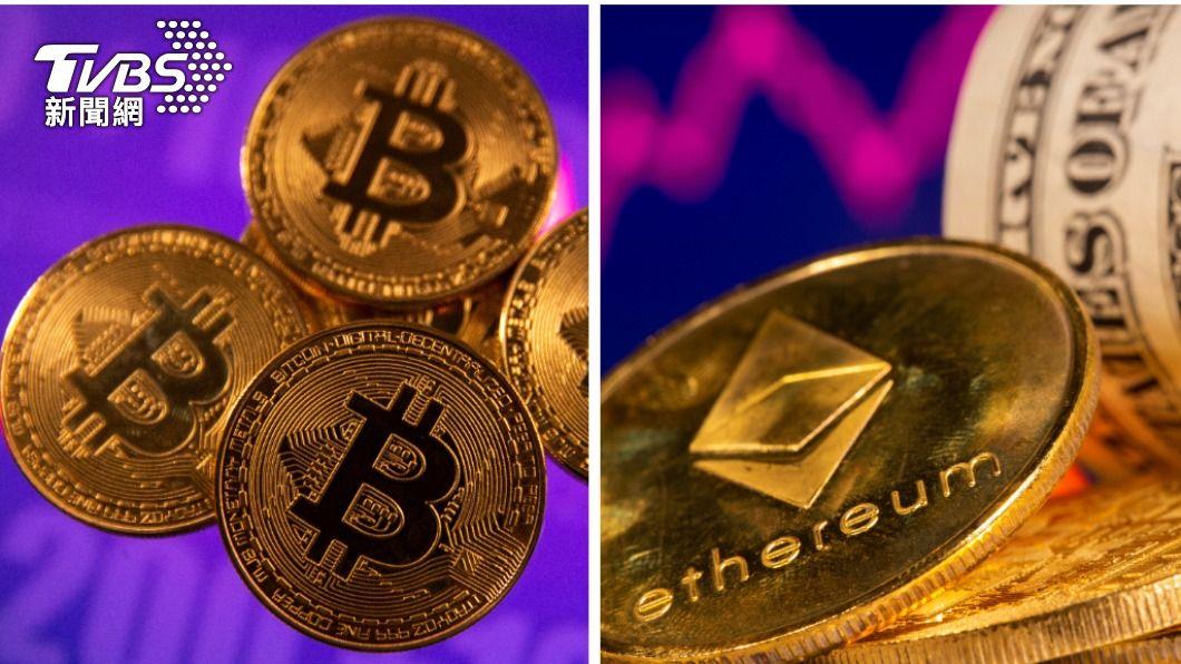 比特幣及以太幣受台灣人的高度關注。(圖/達志影像路透社) 漲勢驚人的「狗狗幣」翻身 盤點台人10大愛用加密貨幣