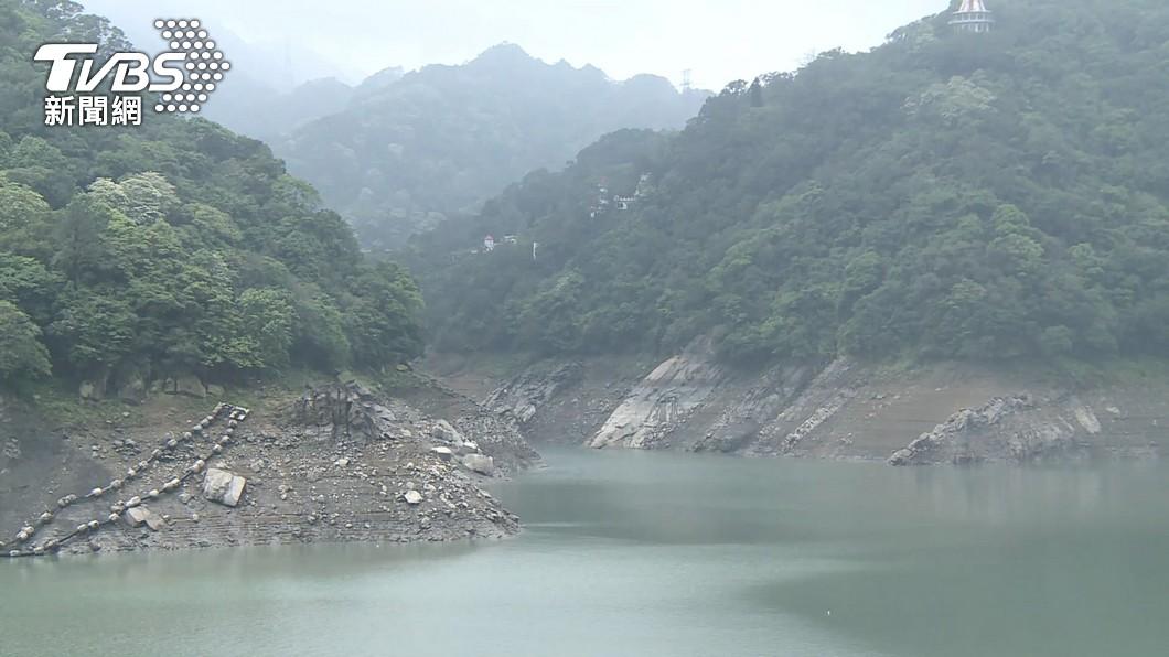 石門水庫有49.8毫米降雨量,相當於480萬噸水。(圖/TVBS資料畫面) 這水庫補最多! 全台進帳1597萬噸用水