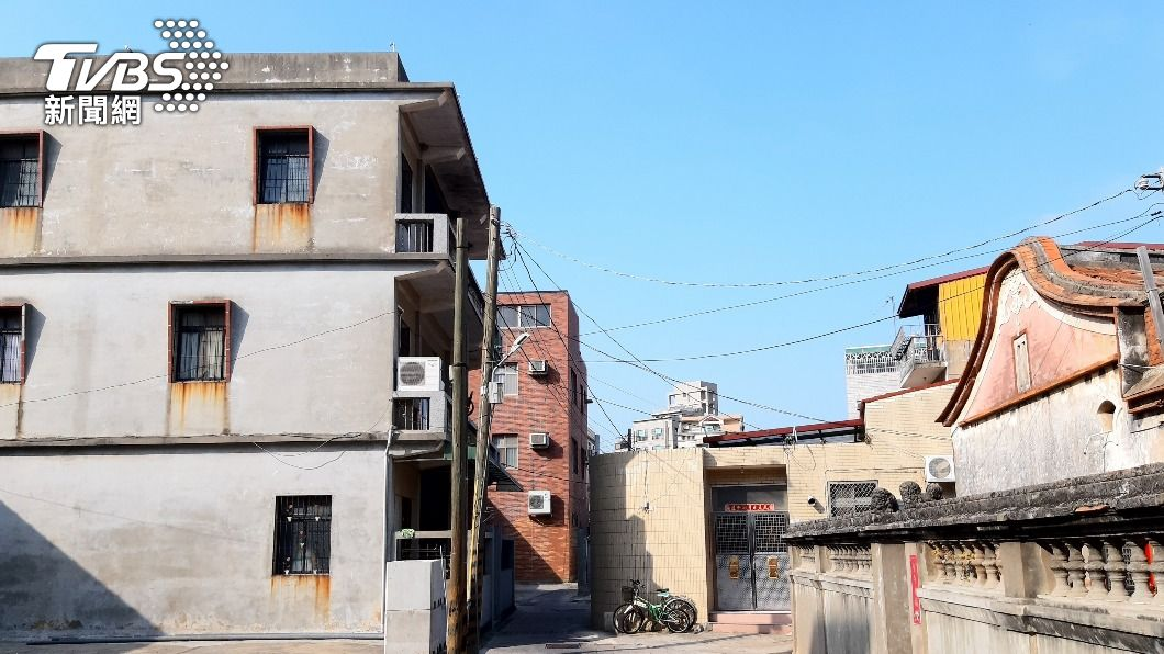 金門縣府推動老舊城區更新。(圖/中央社) 金門啟動危老建築重建 3案媒合自主更新為目標